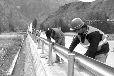 波形护栏生产安装